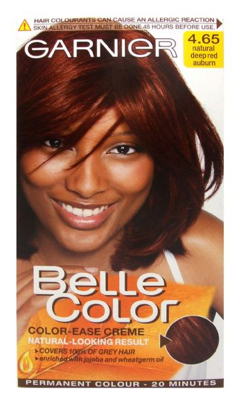 Garnier Belle Hair Colour 4 65 Natural Deep Red Auburn